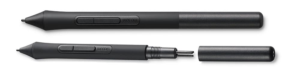 wacom intuos stylus pen with removable back