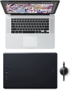 Wacom intuos pro with macbook