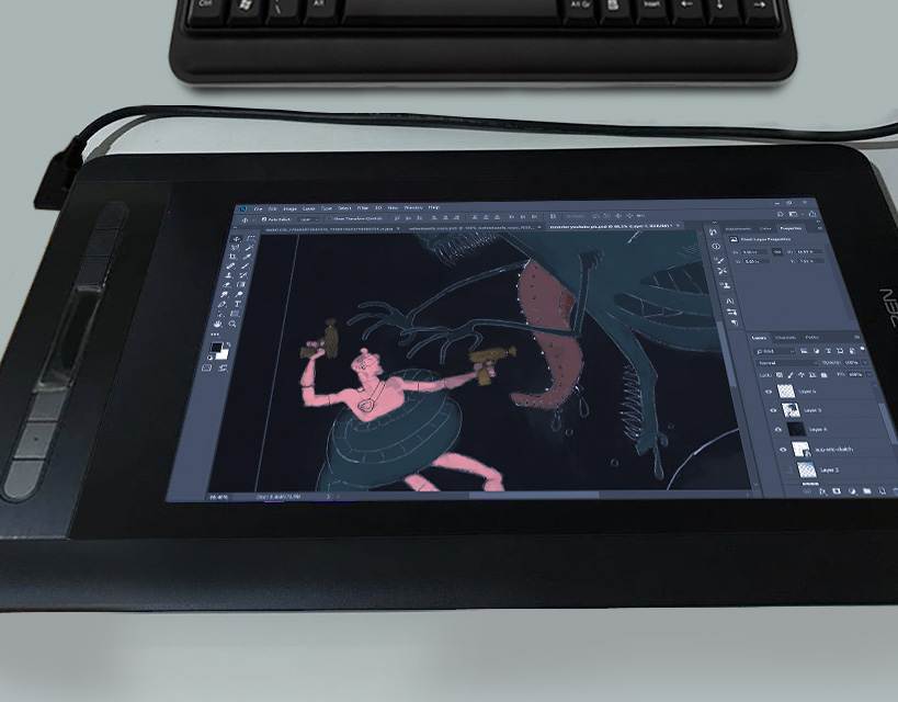 xp pen artist 12 display resolution and color