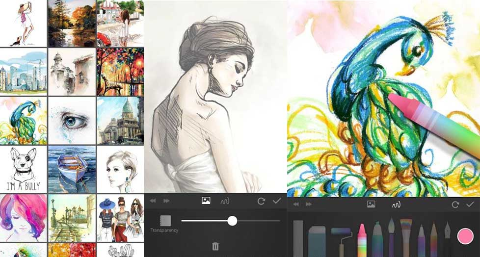 papercolor android drawing app for beginners