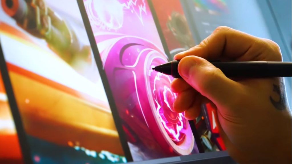 wacom cintiq screen