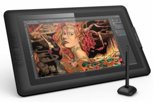 xp pen artist 15.6 display drawing tablet