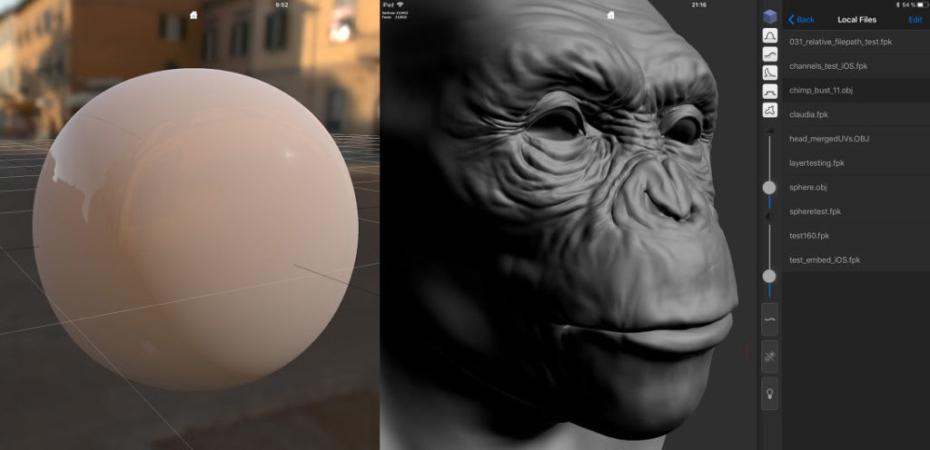 forger 3D modeling and sculpting for iPad