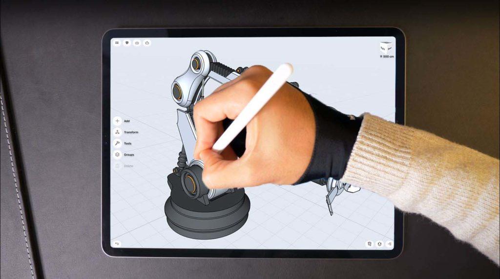 shaper 3D modeling app for iPad