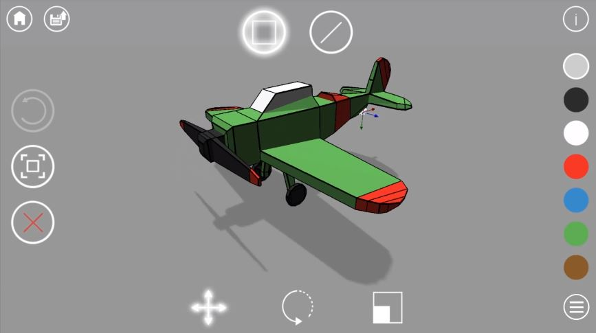 sketch 3D modeling app for Android and IOS