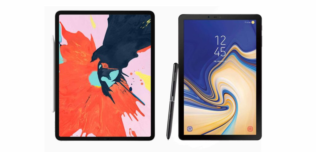 Apple iPad pro vs Samsung Galaxy tab S4 for drawing