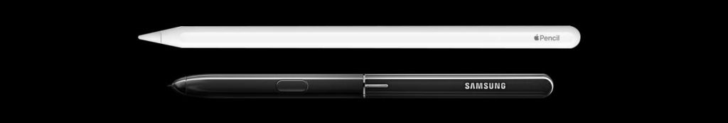 Apple pencil vs Samsung S-pen