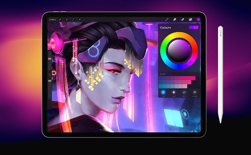 procreate app for ipad