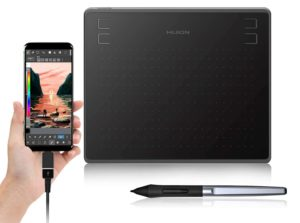 Huion HS64 pen tablet with android support