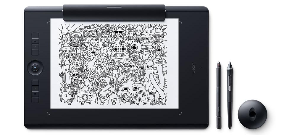 paper edition of Intuos pro