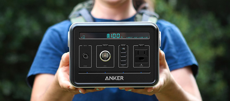 Anker powerhouse battery pack for camping