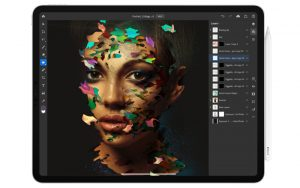 Apple iPad Pro - most portable drawing tablet