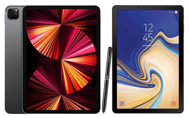 Apple iPad pro vs Samsung Galaxy tab S4 for drawing