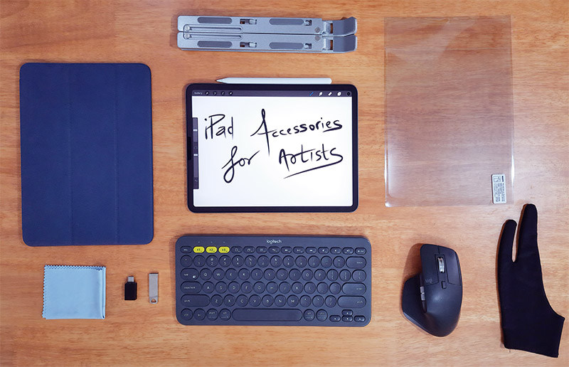 Essential iPad pro accessories for Artists