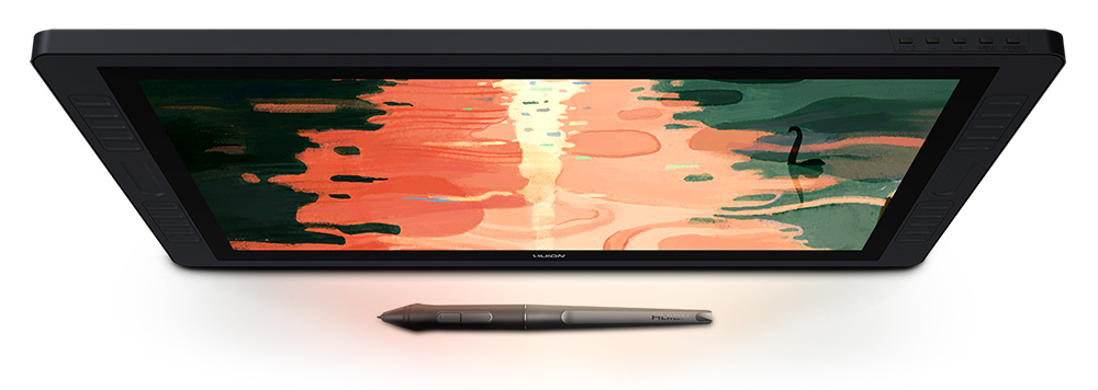 Huion kamvas Pro 22 tablet comparison