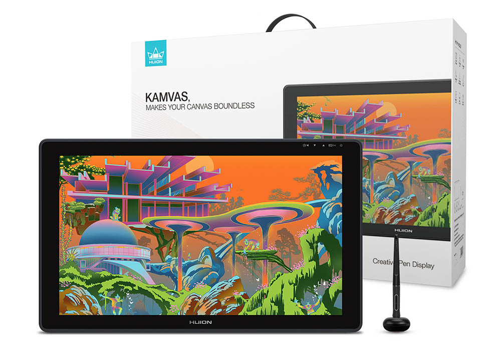 why Huion kamvas is a better tablet than Wacom