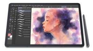 Samsung Galaxy Tab S7+ - the best android drawing tablet