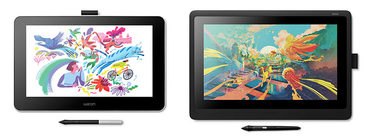 Wacom One vs Wacom Cintiq 16 comparison