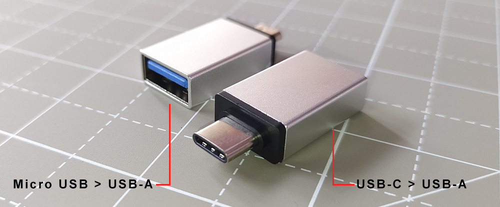 Xp Pen USB adapters for Android devices