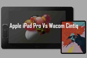 Artist opinion: iPad Pro vs Wacom Cintiq – Review and Comparison