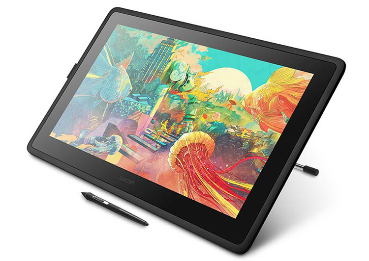 color accuracy of a drawing tablet