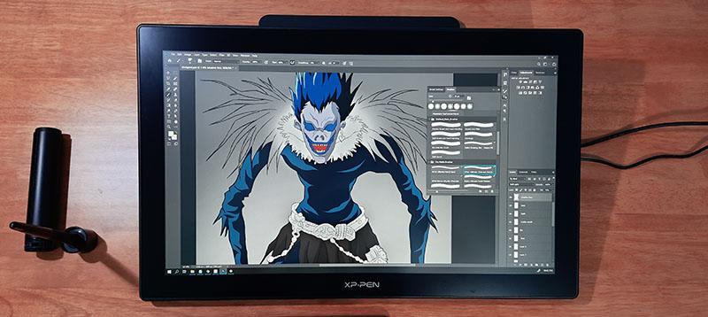 color accuracy of xp pen artist 22