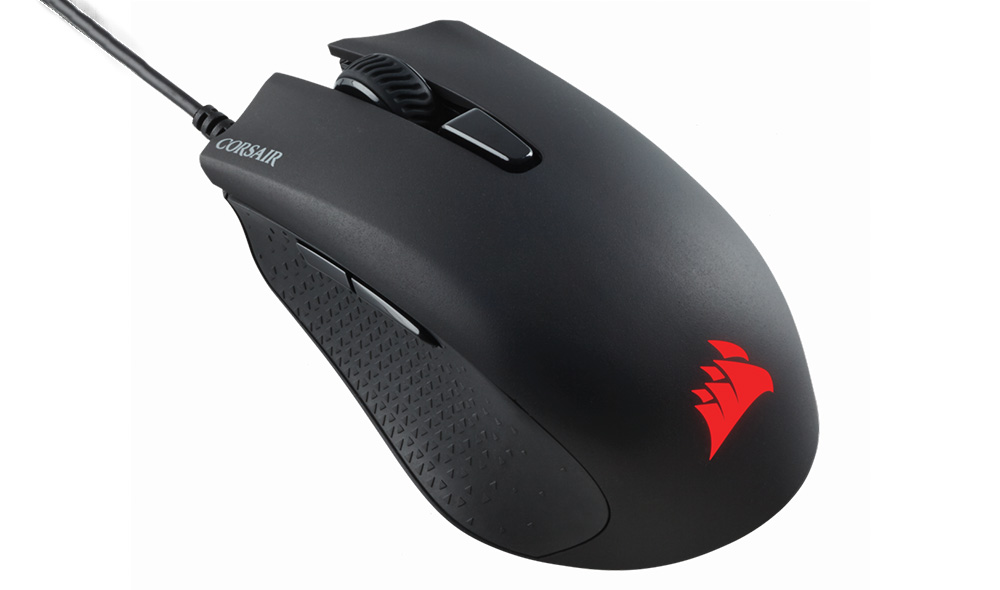 corsair harpoon gaming mouse on a budget