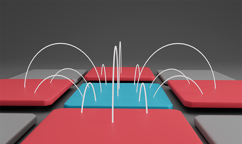 electric field in capacitive stylus