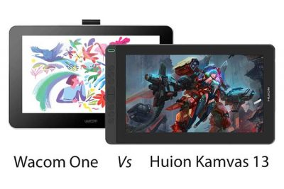 Compared: Wacom One vs Huion Kamvas 13 (Which is better?)