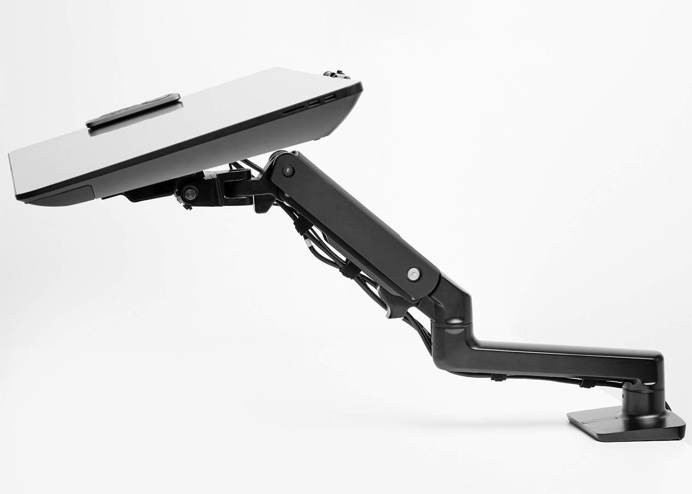 flex arm monitor stand for drawing monitors