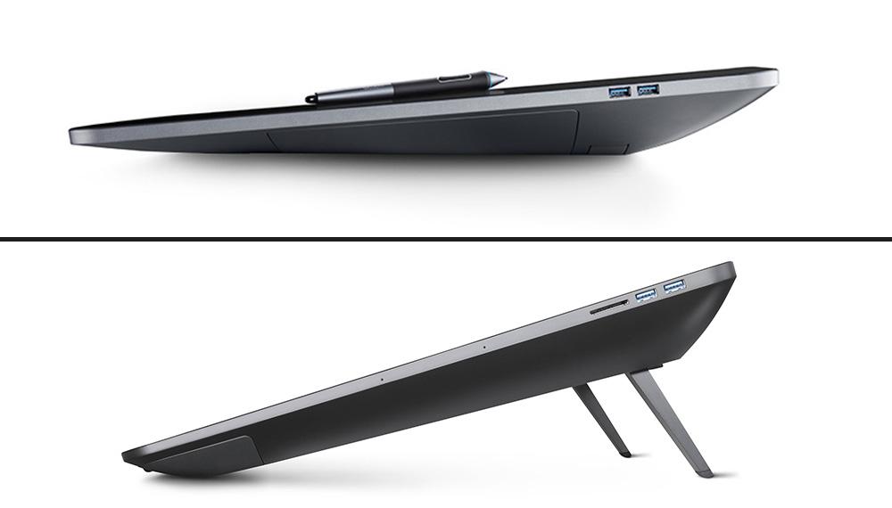 foldeable stands on Wacom Cintiq tablets