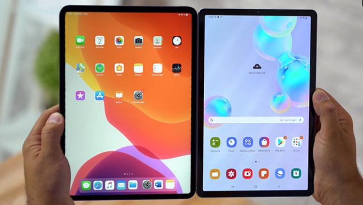 galaxy tab s6 and ipad pro display comparison - aspect ratio