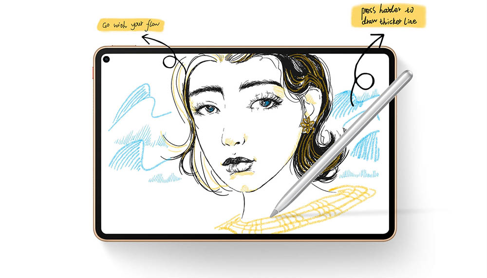 huawei matepad pro drawing tablet with stylus
