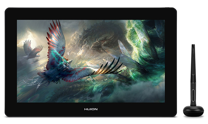 huion kamvas 16 plus - drawing tablet with screen for artist