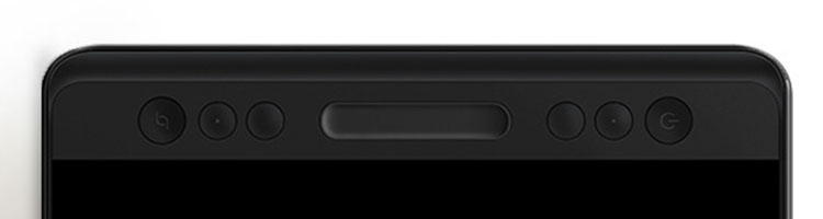 huion kamvas pro 13 shortcut buttons and touch bar