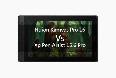 Huion Kamvas Pro 16 vs Xp Pen Artist 15.6 Pro comparison: Budget tablet