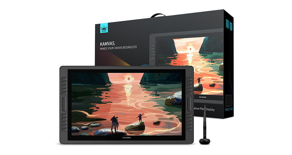 huion kamvas pro 22 - why it is a better drawing tablet