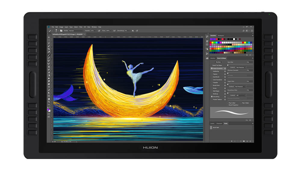 huion kamvas studio 22 pen computer