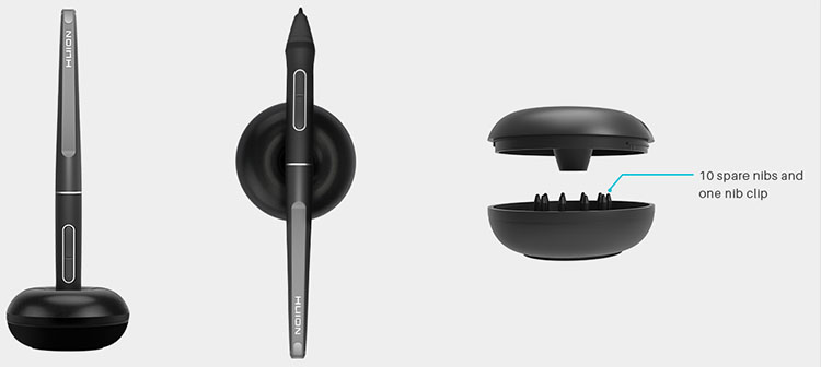 huion pen stand
