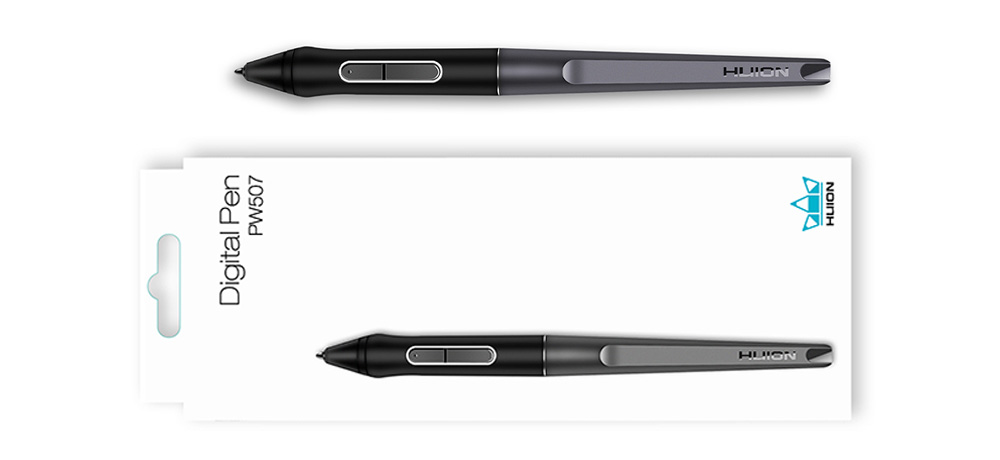 huion stylus PW 507 with case