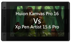 huion vs xp pen display tablet banner
