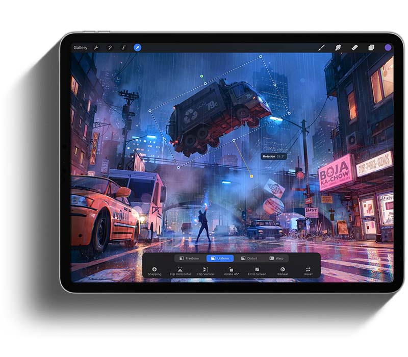 iPad Pro - the best iPad for Procreate