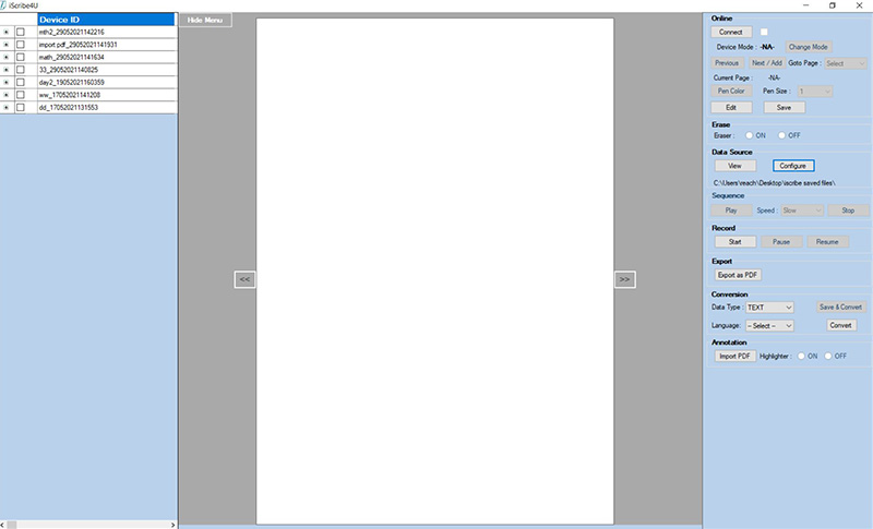 iScribe4U application