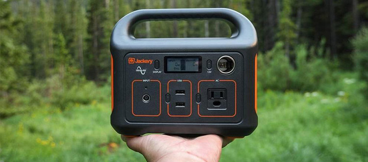jackery powerstation explorer 240 portable charger for camping