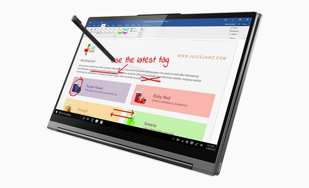 lenovo yoga c 940 slim and portable laptop with stylus