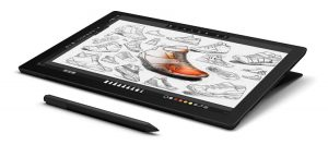 microsoft surface Pro 7 for digital art, drawing and illustration