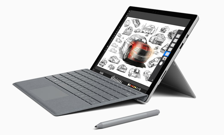 microsoft surface Pro 7 for drawing