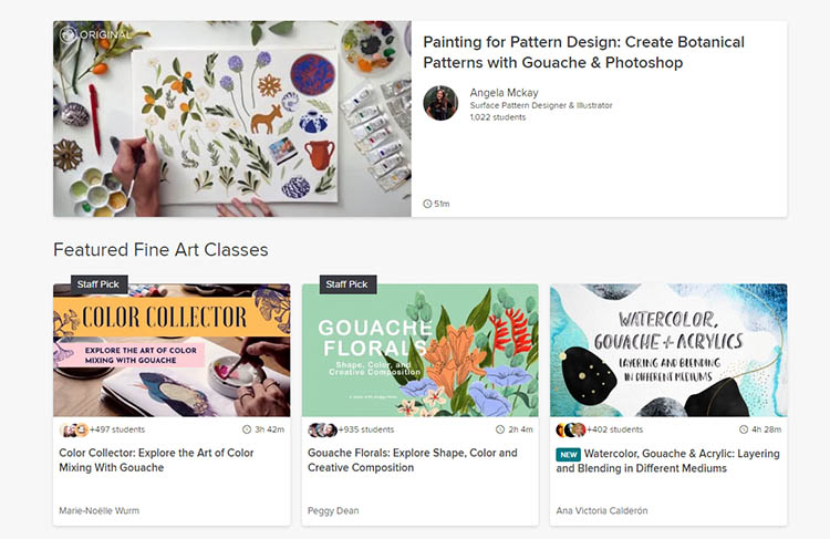 online courses by skillshare