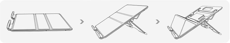 parblo pr112 folding design