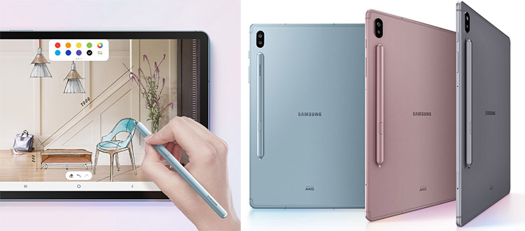samsung galaxy tab s6 standalone drawing tablet